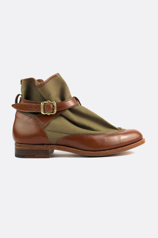 TRICKER'S HIGHPAD BOOTS KHAKI-shoes-A Child Of The Jago