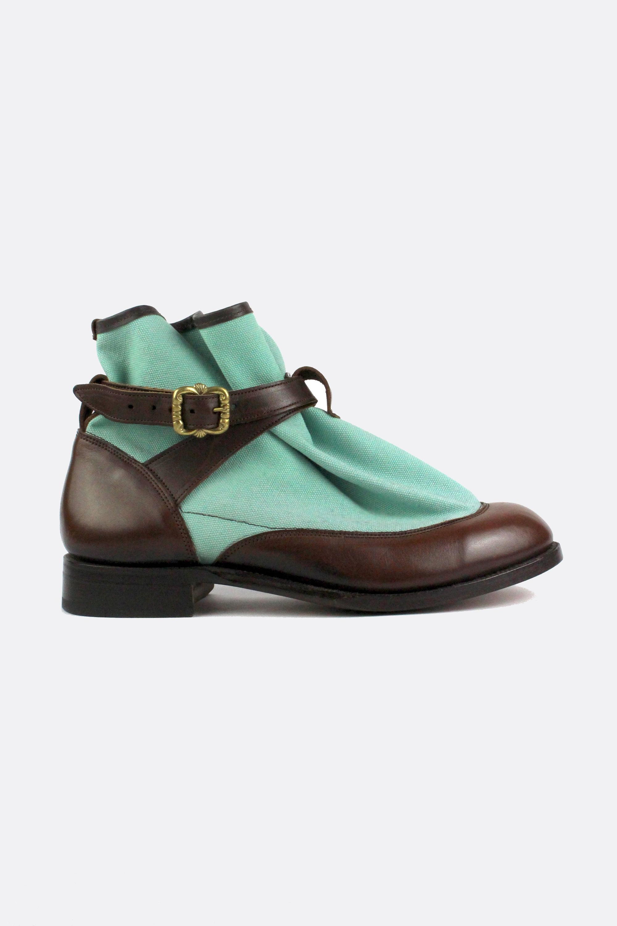 TRICKER'S HIGHPAD BOOTS TURQUOISE-shoes-A Child Of The Jago