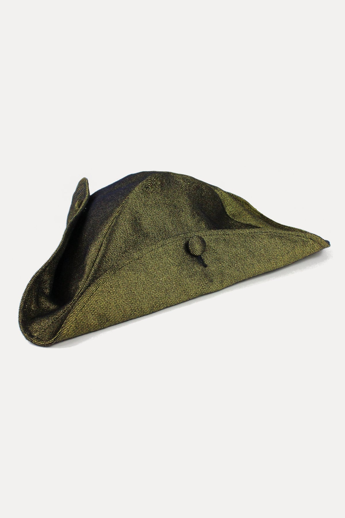 TRICORNE - GOLD DENIM-hats-A Child Of The Jago