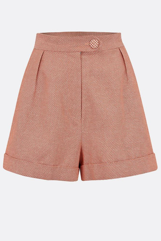 VESTA SHORTS IN BURNT ORANGE-womenswear-A Child Of The Jago