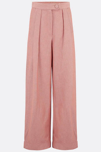 VESTA TROUSERS IN BURNT ORANGE-womenswear-A Child Of The Jago