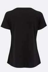 WOMEN'S HIGHWAYMAN BLACK TEE SHIRT-T shirts-A Child Of The Jago
