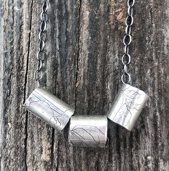 Cylinders Necklace