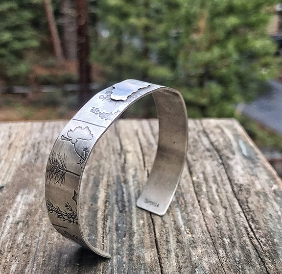 Tahoe Wildflower Cuff