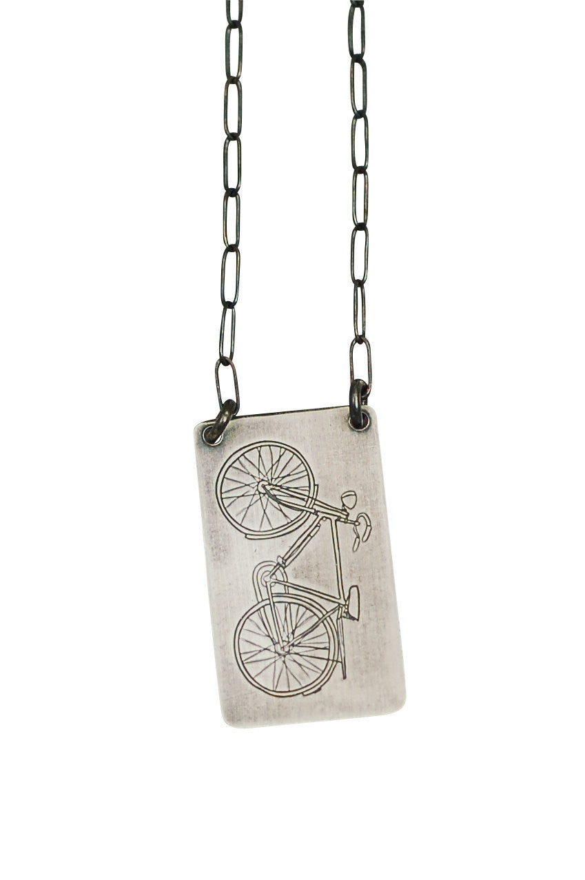 Cruiser Bicycle Necklace