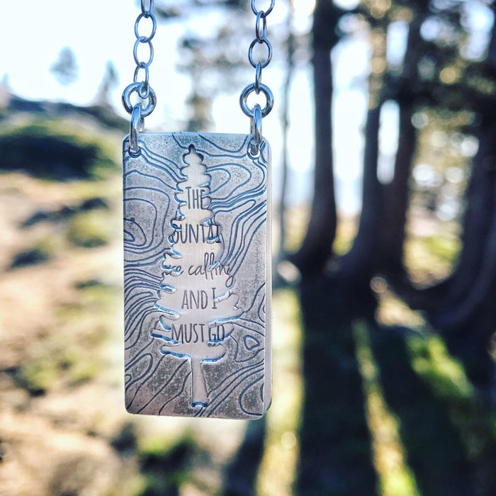 Mountains Calling Series Necklace