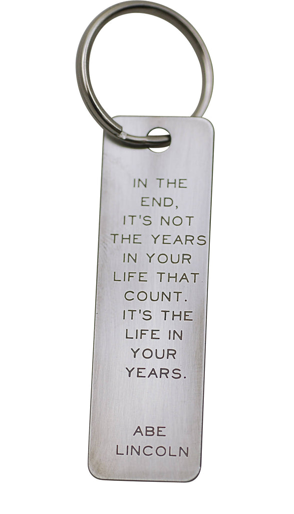 Quote Keychains
