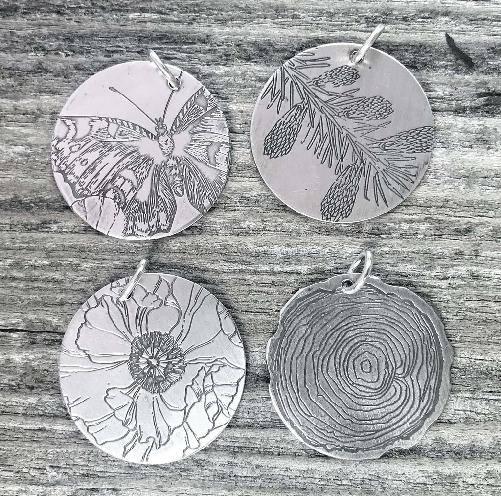 Pattern and Print Pendant Series 2