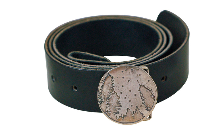 Stars and Trees Belt Buckle