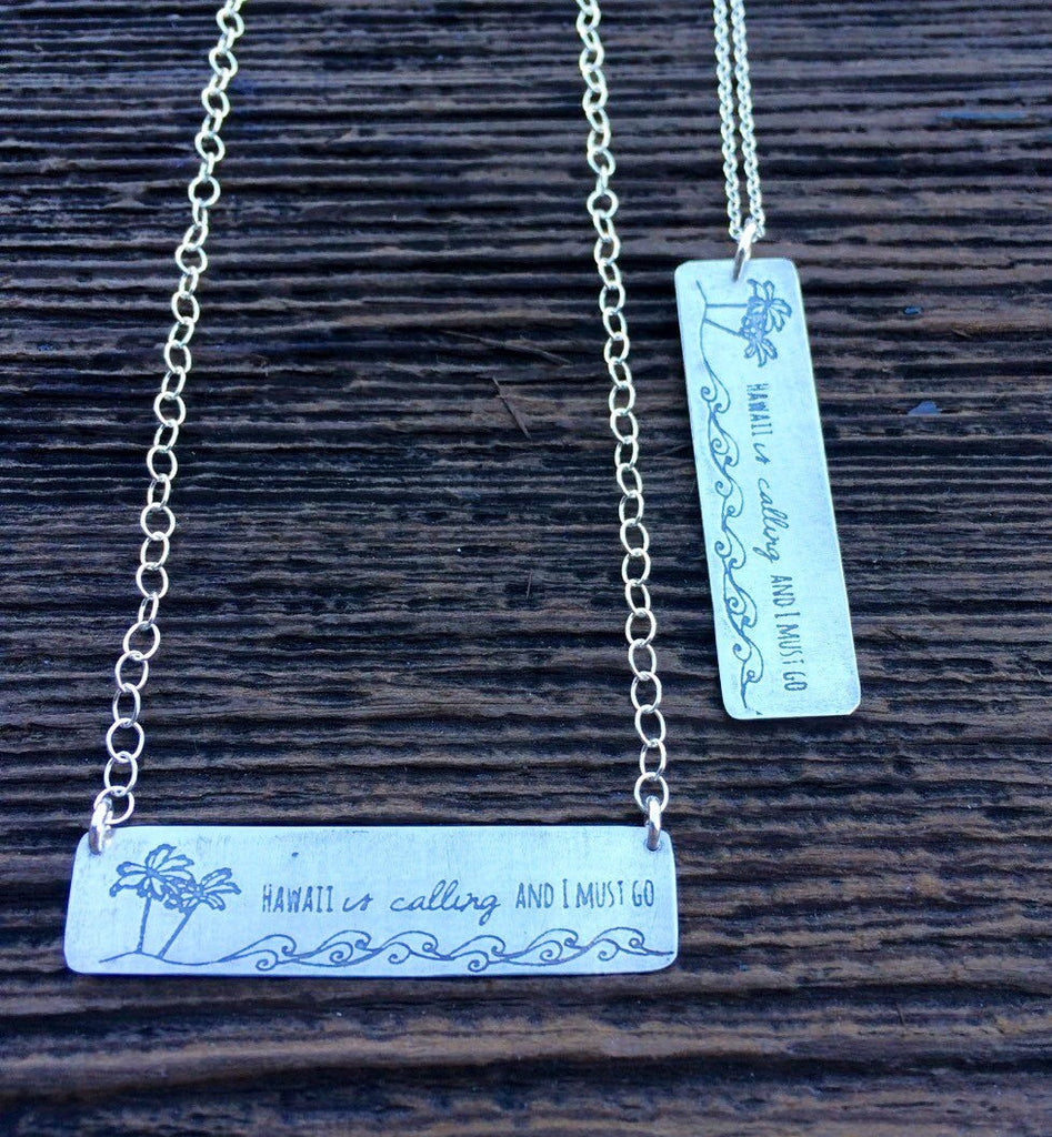 Ocean is calling Necklace