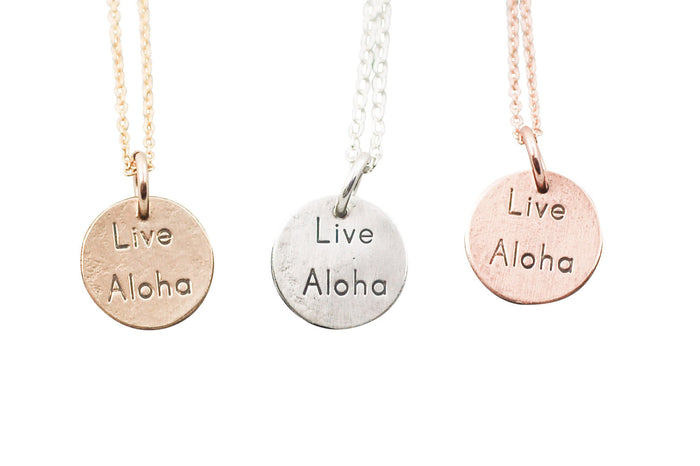 live aloha necklace