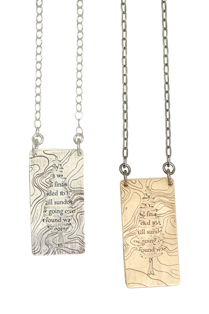 john muir necklace