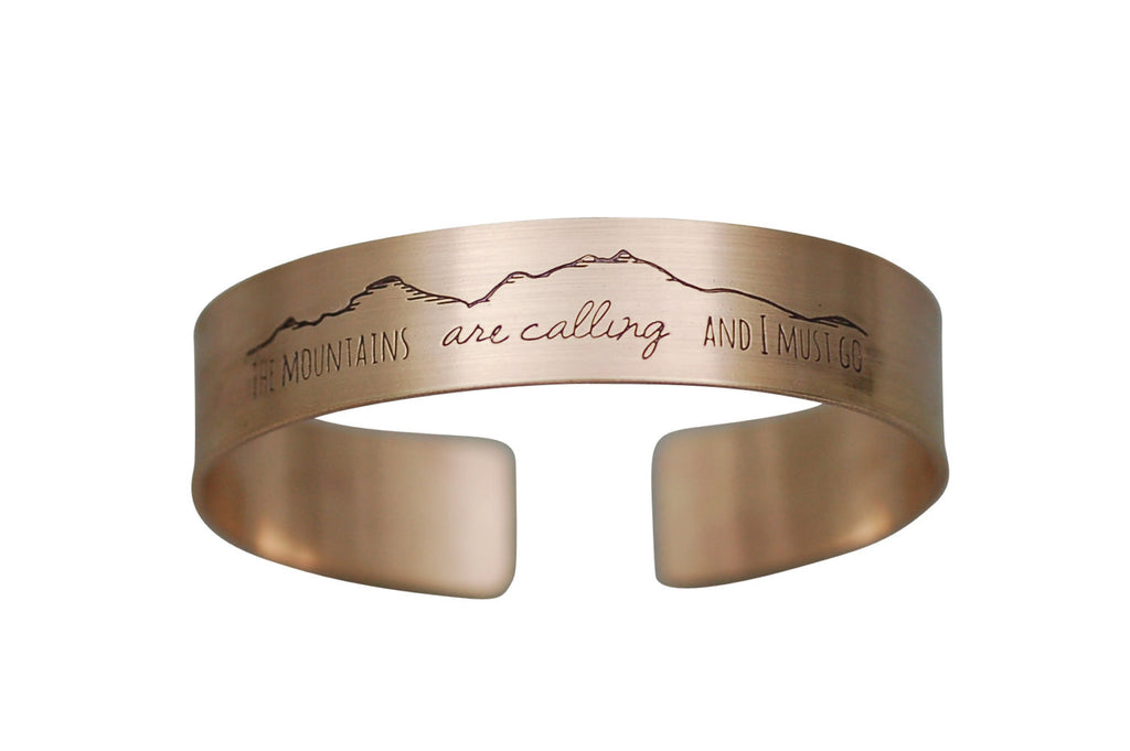 Mountains Calling Cuff