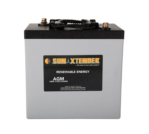 Sun Xtender PVX-2240T - 6v - 224AH Deep Cycle Battery