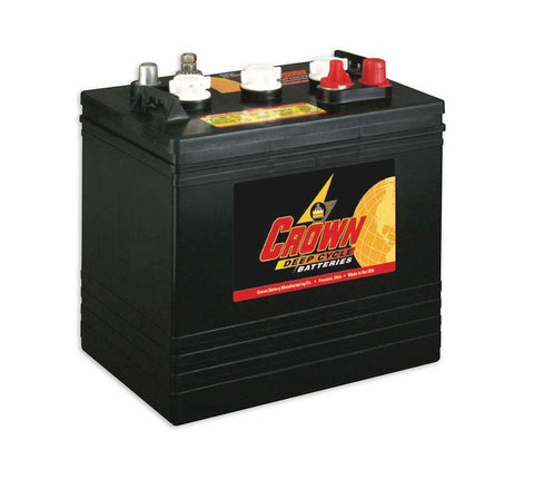 Crown CR-240 - 6v - 240AH Deep Cycle Battery