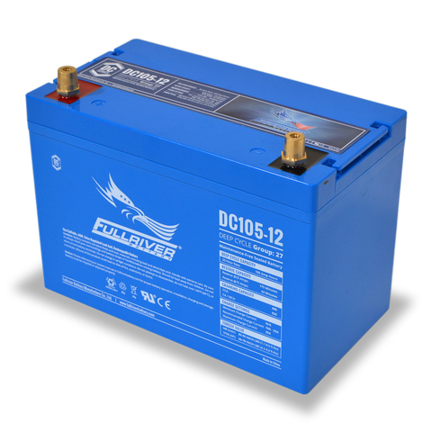 Fullriver DC105-12 Deep-Cycle AGM Battery