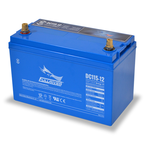 Fullriver DC115-12 Deep-Cycle AGM Battery