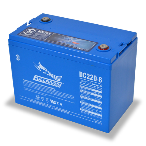 Fullriver DC220-6 Deep-Cycle AGM Battery