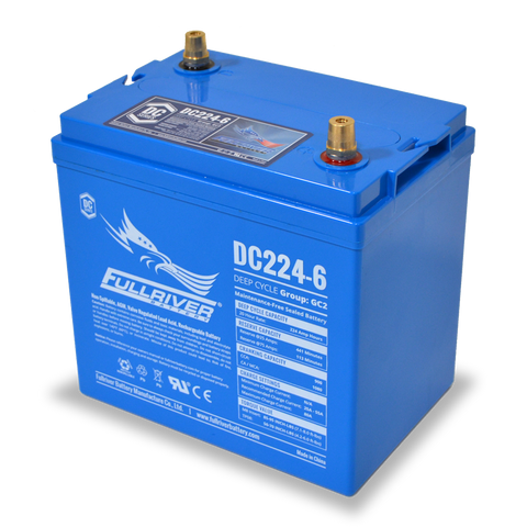 Fullriver DC224-6 Deep-Cycle AGM Battery