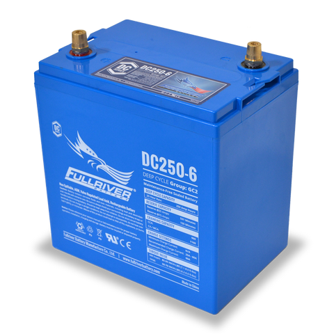 Fullriver DC250-6 Deep-Cycle AGM Battery