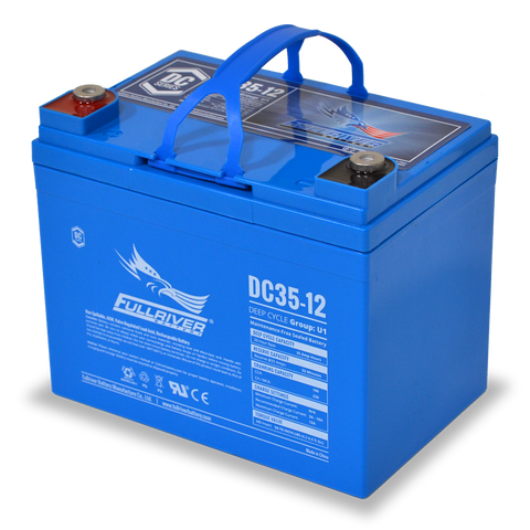 Fullriver DC35-12 Deep-Cycle AGM Battery