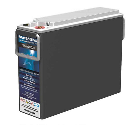 NorthStar SMS-AGM-220 RV & Marine Battery
