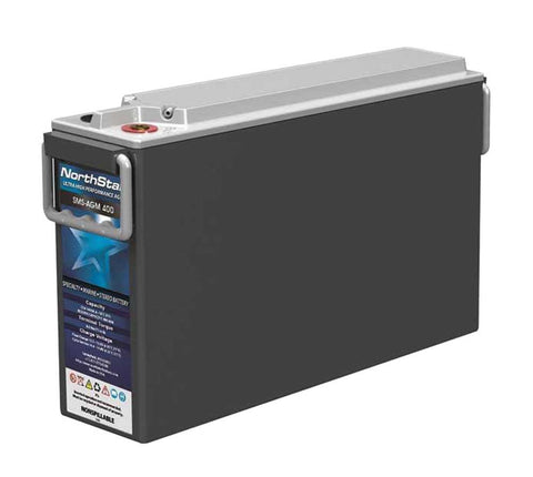 NorthStar SMS-AGM-400 RV & Marine Battery