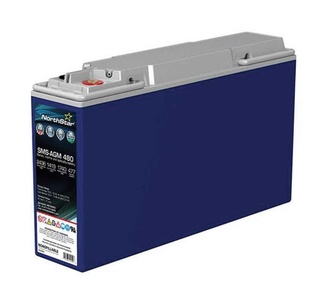NorthStar SMS-AGM-480 RV & Marine Battery