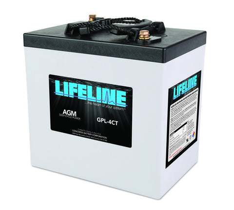 Lifeline GPL-4CT - 6v - 220AH Deep Cycle Battery