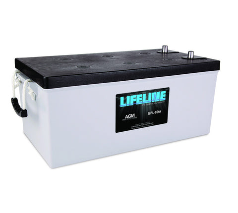 Lifeline GPL-8DA - 12v - 255AH Deep Cycle Battery