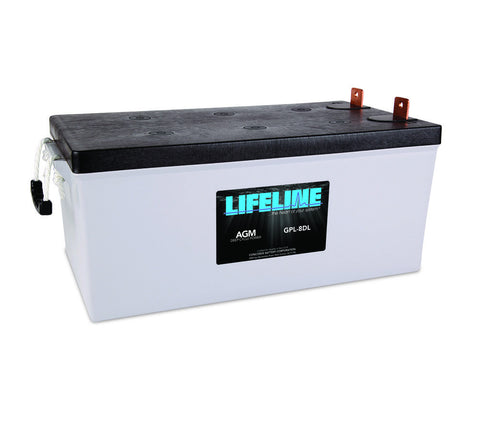 Lifeline GPL-8DL - 12v - 255AH Deep Cycle Battery