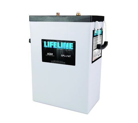 Lifeline GPL-L16T - 6v - 400AH Deep Cycle Battery