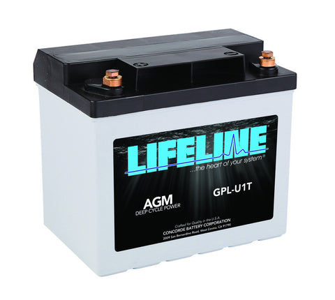 Lifeline GPL-U1T - 12v - 33AH Deep Cycle Battery