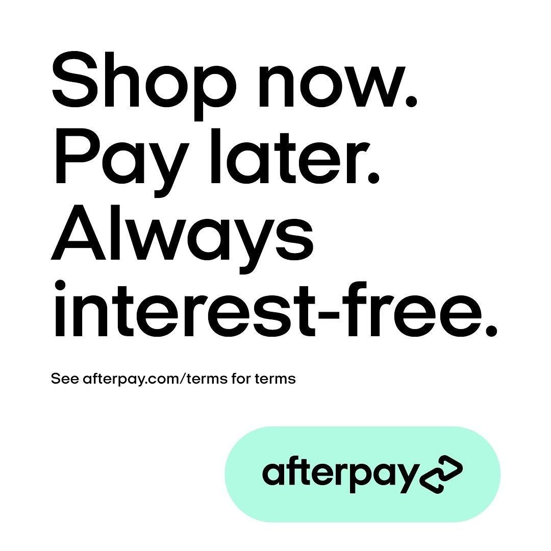 Afterpay is now available at Yellow Birch!