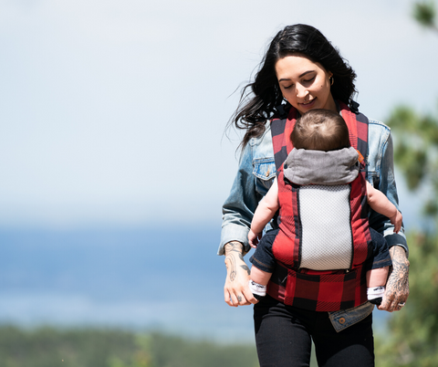 Beco 8 Buffalo Plaid Baby Carrier