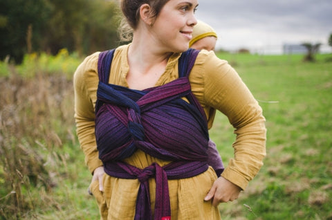 Girasol WrapMySol Half Buckle Carrier Twilight