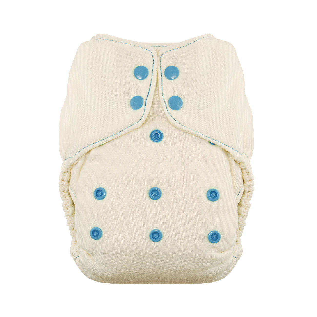 Thirsties Natural Fitted One Size Diaper - Yellow Birch