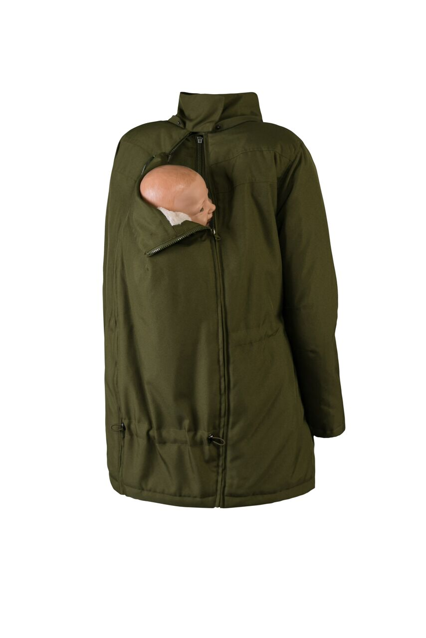 Wallaby 2.0 Babywearing Coat - Special Order - Yellow Birch