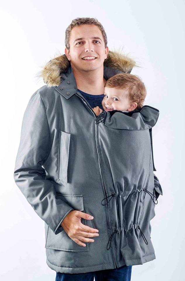 Bandicoot Babywearing Coat - Yellow Birch