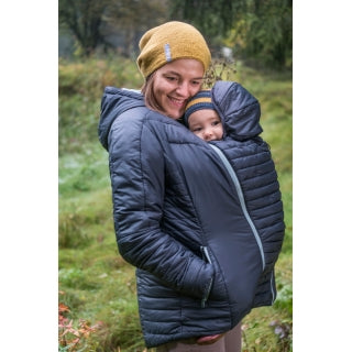 ed374f605b05 Mamalila Babywearing Quilted Winter Jacket - Yellow Birch
