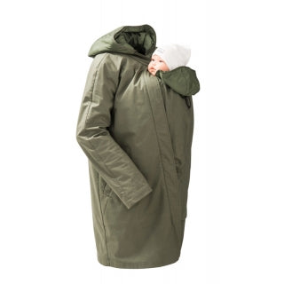 Mamalila Babywearing Short Coat - Yellow Birch