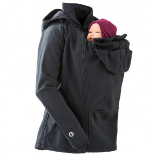 Mamalila Softshell Babywearing Jacket - Yellow Birch