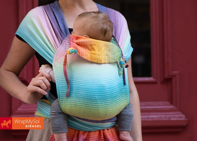 Girasol WrapMySol Rainbow Dreamer Half Buckle Carrier