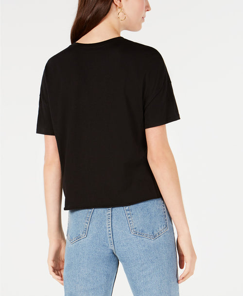 Carbon Copy Juniors Out Of Office T-Shirt Black