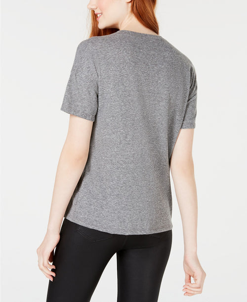 Carbon Copy Embellished T-Shirt Heathered Grey XL