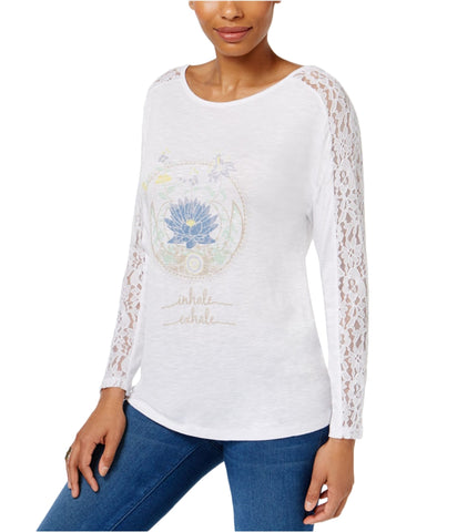 JAMIE LAYLA Graphic-Print T-Shirt Marshmallow White S
