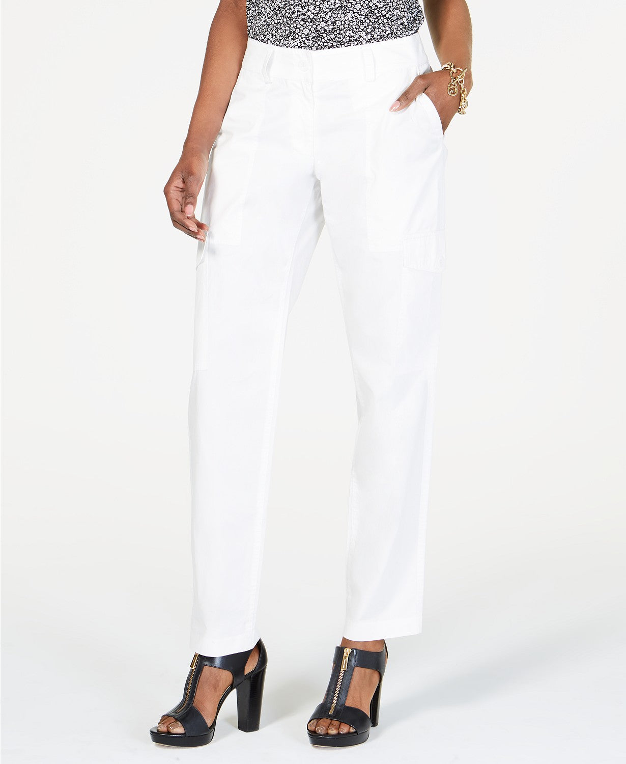 Michael Kors Cotton Cargo Pants