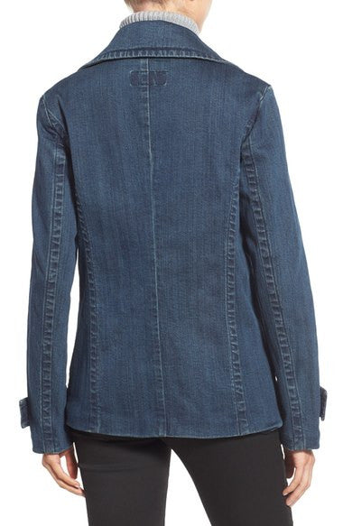 Michael Kors Denim Peacoat Huston Wash XL