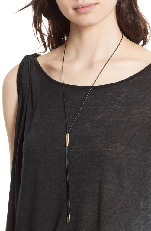 Free People Pluto One-Shoulder T-Shirt Black - Gear Relapse