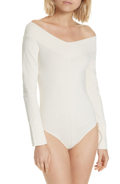 Free People Zone Out Off-The-Shoulder Bodysuit - Gear Relapse